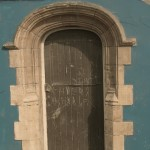 Historic doorway preserved at St. Helen's Ground